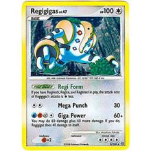 Regigigas Stormfront Set Holo-Foil 9/100 Pokemon Card (Very Good Cond)