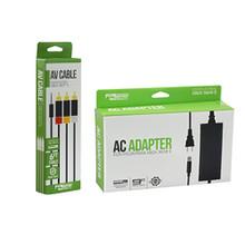 Xbox 360 E AC Adapter & AV Cable Bundle (KMD)