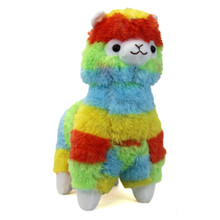 "Rainbow - Alpaca 14"" Plush"