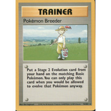 Pokemon Breeder Set 1 76/102 Pokemon Card (Excellent Condition)
