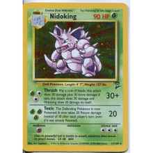 Nidoking Set 2 Holo-Foil 11/130 Pokemon Card (Excellent Condition)