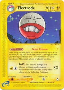 Electrode Aquapolis Set 8/147 Pokemon Card (Excellent Condition)