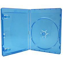 [50 pcs.] PS4 Blu Ray Retail Game Case Media Package - Clear Blue
