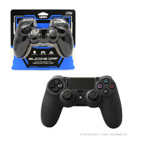 PS4 Controller Silicone Skin Protector - Black (KMD) KMD-PS4-3064