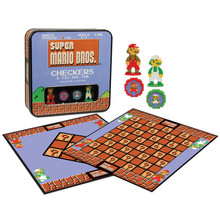 8bit Super Mario Bros. Checkers (USAopoly) CM005-435
