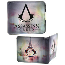 "Insignia - Assassin's Creed 4x5"" BiFold Wallet With Button"