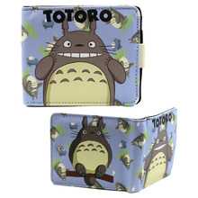 "Totoro - My Neighbor Totoro 4x5"" BiFold Wallet With Button"