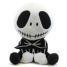 "Sitting Jack Skellington - The Nightmare Before Christmas 11"" Plush"