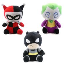 Batman, Harely Quinn, and The Joker - DC Comics Plush Bundle