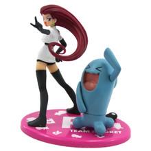 "Jessie and Wobbuffet - Pokemon 4"" Action Figure"