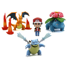 """Red: Champion Ver. - Pokemon 3"""" Droid Action Figure"""