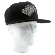 House Stark Direwolf - Game of Thrones Snapback Cap Hat
