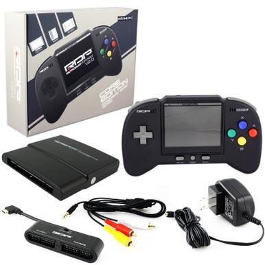 SNES & NES Retro Duo Portable Console System V2 Core Black (Retro-Bit)