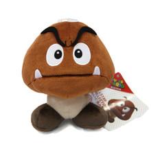 "Goomba - Super Mario Bros 6"" Plush (San-Ei) 1427"