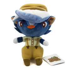 "Kicks - Animal Crossing 7"" Plush (San-Ei) 1305"