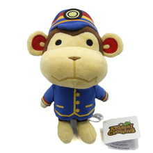 "Porter - Animal Crossing 7"" Plush (San-Ei) 1304"