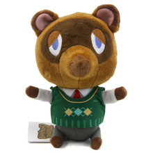 "Tom Nook - Animal Crossing 7"" Plush (San-Ei) 1301"