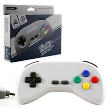 SNES Super Retro Controller Pad - Solo - Grey (Retro-Bit) RB-SNES-0209
