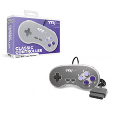SNES Analog Controller Pad Classic Style - White/Grey (TTX Tech)