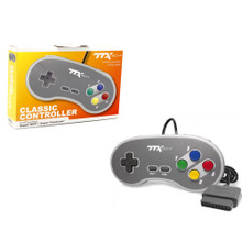 SNES Analog Controller Pad Famicom Style - Grey (TTX Tech)