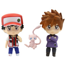 """Red and Blue - Pokemon 3"""" Droid Action Figures"""