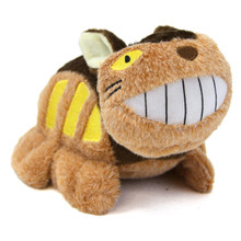 "Cat Bus - 4x8"" My Neighbor Totoro Keychain Plush"