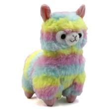 "Rainbow - Alpaca 5"" Plush"