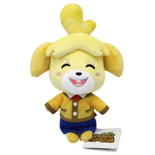 "Smiling Isabelle - Animal Crossing 6"" Plush (San-Ei) 1309"