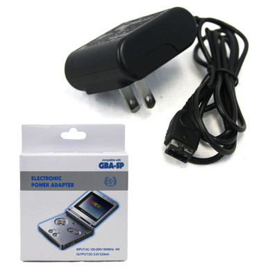 GBA SP AC Power Adapter 100-250V - DS Compatible (Hexir)
