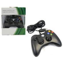 Xbox 360 Wired Analog Controller Pad - Black (Hexir)