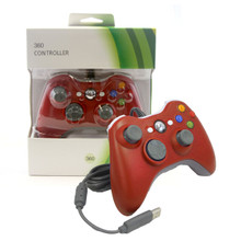 Xbox 360 Wired Analog Controller Pad - Red (Hexir)