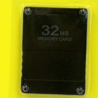 PS2 Memory Card 32 MB (Hexir)