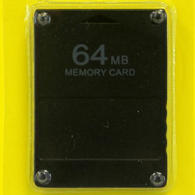 PS2 Memory Card 64 MB (Hexir)