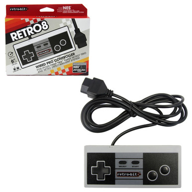 NES Analog Controller Pad - Original Style (Retro-Bit) RB-NES-7482