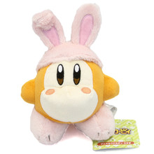 "Rabbit Waddle Dee - Kirby of the Stars Small 6"" Plush (San-Ei) 1635"
