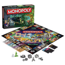 Rick and Morty Monopoly Board Game (USAopoly) MN085-434
