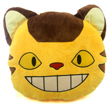 "Catbus's Face - My Neighbor Totoro 13"" Plush Pillow"