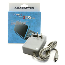 New 2DS XL AC Adapter 100-240V (Hexir)
