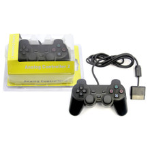 PS2 Wired Analog Controller Pad - Black (Hexir)