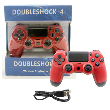 PS4 Wireless OG Controller Pad - Red (Hexir)