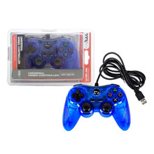 PS3 Wired USB Controller Pad - Clear Blue (TTX Tech)