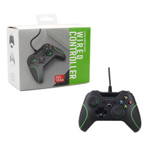 Xbox One Wired Analog Controller Pad - Black (Hexir)