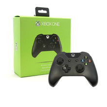 Xbox One Wireless Analog Controller Pad - Black (Hexir)