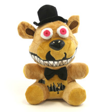 "Nightmare Freddy - Five Nights at Freddy's 7"" Plush"