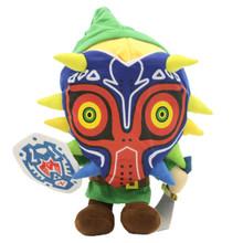 """Link with Majora's Mask - The Legend of Zelda 12"""" Plush"""