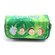 Rick, Morty, Summer, and Jerry - Rick and Morty Clutch Wallet