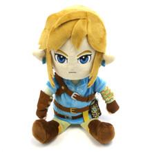 "Link - The Legend of Zelda: Breath of the Wild 12"" Plush (San-Ei) 1638"