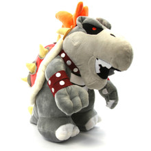 "Dry Bowser - Super Mario Bros 11"" Plush"
