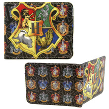 "Hogwarts Crest - Harry Potter 4x5"" BiFold Wallet"