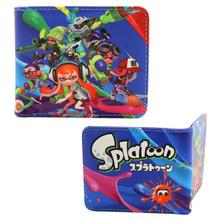 """Inklings - Splatoon 4x5"""" BiFold Wallet"""